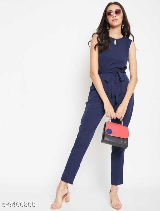 Trendy Rayon Woman Jumpsuits