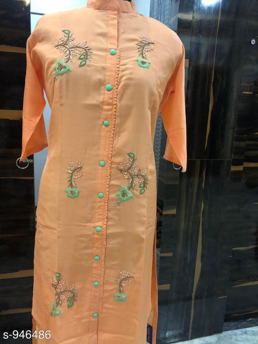 Kurtis & Kurtas Attractive Rayon Hand Work Kurti  *Fabric* Rayon  *Sleeves* 3/4 Sleeves Are Included  *Size* XL - 42 in  *Length* Up To 48 in  *Type* Stitched  *Description* It Has 1 Piece Of Women's Kurti  *Work* Hand Work  *Sizes Available* XL   SKU: ARHWK_2 Free shipping is available for this item. Pkt. Weight Range: 300  Catalog Name: Inaaya Ethnic Rayon Hand Work Kurtis Vol 1 - Artee ethnics Code: 0771-946486--