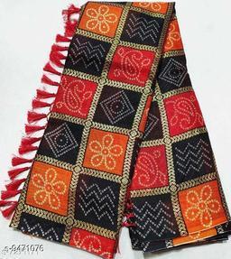 MULTICOLOR KOTA DORIA FABRIC FOIL PRINT WITH BLOUSE RAJASTHANI INDIAN WEDDING PARTY WEAR BANDHEJ BANDHANI SAREES