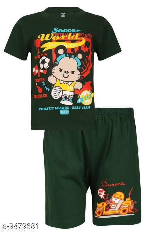 Clothing Sets Elite Cotton Kids Boys Sleepwear (Pack of 1)  *Multipack* Single  *Sizes*  2-3 Years  *Sizes Available* 2-3 Years *    Catalog Name: Tinkle Trendy Boys Top & Bottom Sets CatalogID_1667918 C59-SC1182 Code: 293-9479681-