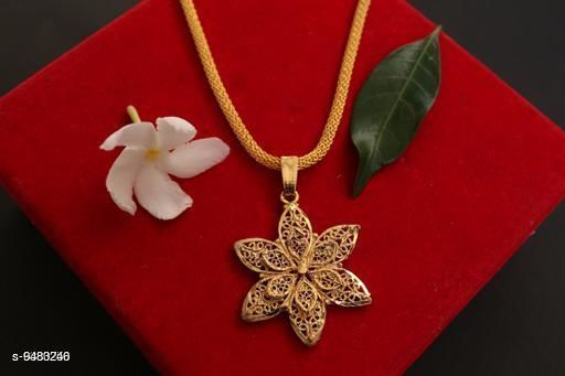 Pendants & Lockets Twinkling Chunky Pendants  *Base Metal* Alloy  *Plating* Gold Plated  *Sizes*   *Sizes Available* Free Size *    Catalog Name: Shimmering Fancy Pendants & Lockets CatalogID_1668712 C77-SC1095 Code: 131-9483246-