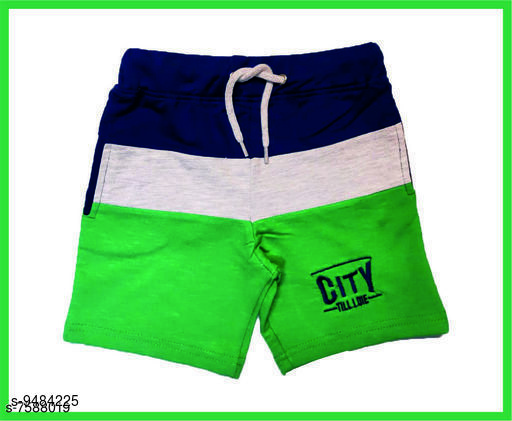 Trackpants & Joggers TRENDY BOYS SHORTS  *Fabric* Cotton  *Sizes*  2-3 Years  *Sizes Available* 2-3 Years *    Catalog Name: Cutiepie Trendy Kids Boys Trackpants CatalogID_1668915 C59-SC1186 Code: 932-9484225-
