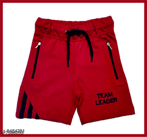 Trackpants & Joggers TRENDY BOYS SHORTS  *Fabric* Cotton  *Sizes*  2-3 Years  *Sizes Available* 2-3 Years *    Catalog Name: Flawsome Elegant Kids Boys Trackpants CatalogID_1668927 C59-SC1186 Code: 932-9484281-