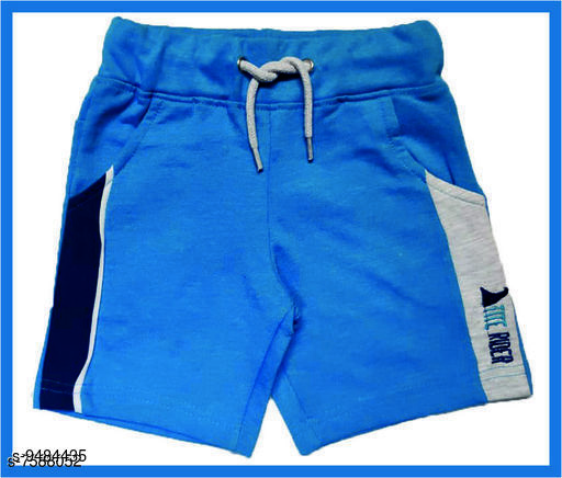 Trackpants & Joggers TRENDY BOYS SHORTS  *Fabric* Cotton  *Sizes*  2-3 Years  *Sizes Available* 2-3 Years *    Catalog Name: Cutiepie Comfy Kids Boys Trackpants CatalogID_1668960 C59-SC1186 Code: 932-9484435-