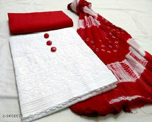 Pretty Chicken Cotton Salwar Suits & Dress Material