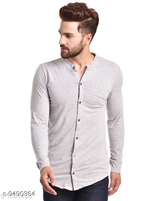 Comfy Men's Cotton Solid Shirts