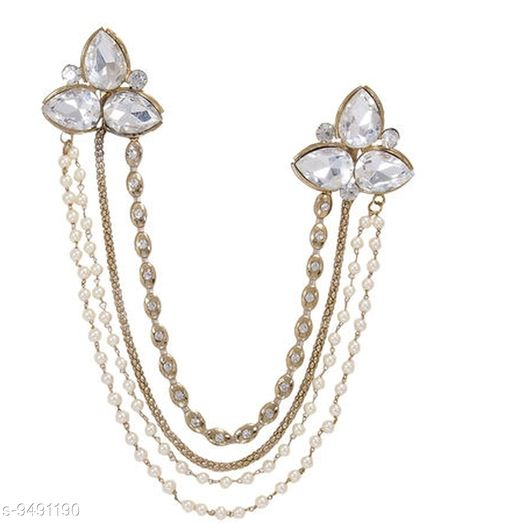 Apparel Accesories Jewellery Designer Broches  *Base Metal* Lac  *Sizes Available* Free Size *    Catalog Name: Attractive Women Jewellery Accessories CatalogID_1670438 C72-SC1089 Code: 144-9491190-