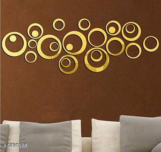 Navratri/Yellow - Attractive Cast Acrylic Wall Sticker