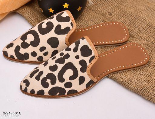 Juttis & Mojaris Jutti  *Material* Leather  *Sizes*  IND-6, IND-5  *Sizes Available* IND-5, IND-6 *    Catalog Name: Latest Fashionable Women Jutis & Mojaris CatalogID_1671081 C75-SC1069 Code: 015-9494016-999