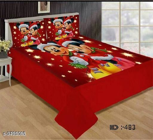 Bedsheets Navratri/Red - Attractive Bedsheet  *Sizes*  King  *Sizes Available* King *    Catalog Name: Gorgeous Fancy Bedsheets CatalogID_1671327 C53-SC1101 Code: 095-9495088-