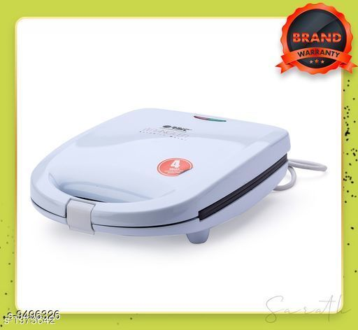 Sandwich Maker Orbit Wrangler 1400-Watt 4-Slice Sandwich Maker (White)  *Sizes*  Free Size  *Sizes Available* Free Size *    Catalog Name: Classy Toasters CatalogID_1671649 C104-SC1490 Code: 8761-9496326-