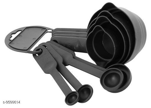 Latest Black Measuring Cups and Spoons Set