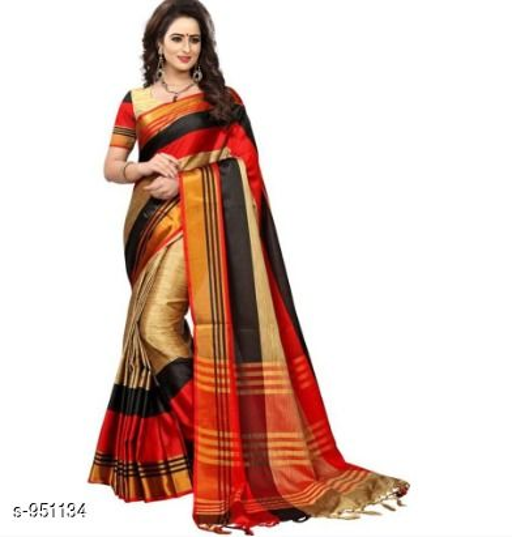Stunning Cotton Printed Saree