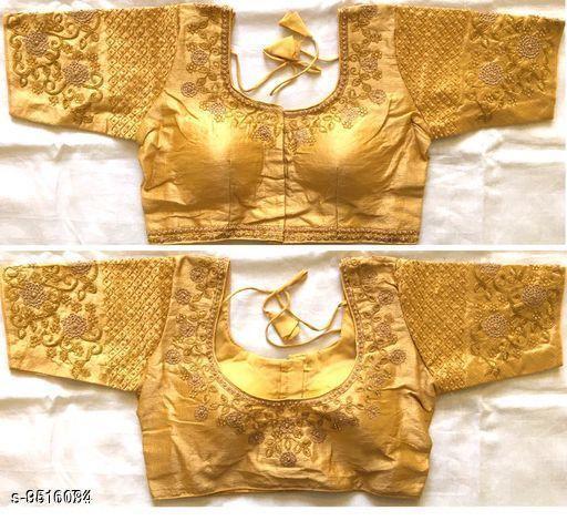 Blouses Blouses  *Sizes*  38  *Sizes Available* 38 *    Catalog Name: Chitrarekha Attractive Women Blouses CatalogID_1676370 C74-SC1007 Code: 694-9516094-