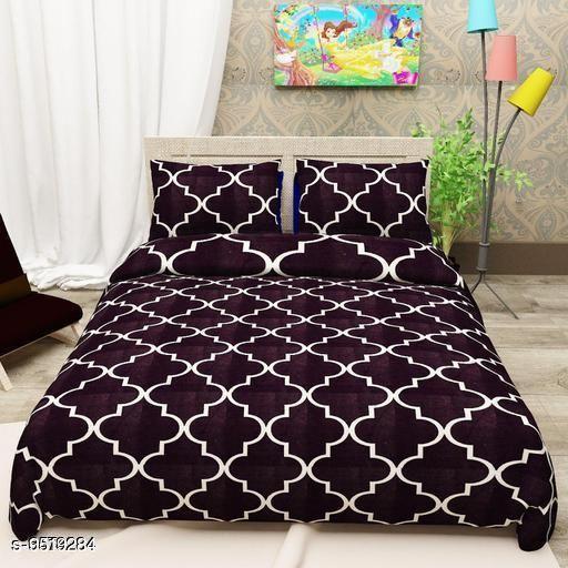 Navratri/Purple - Classy Comfy Bedsheet