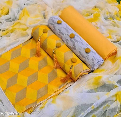 Lakda cotton Suits & Dress Materials