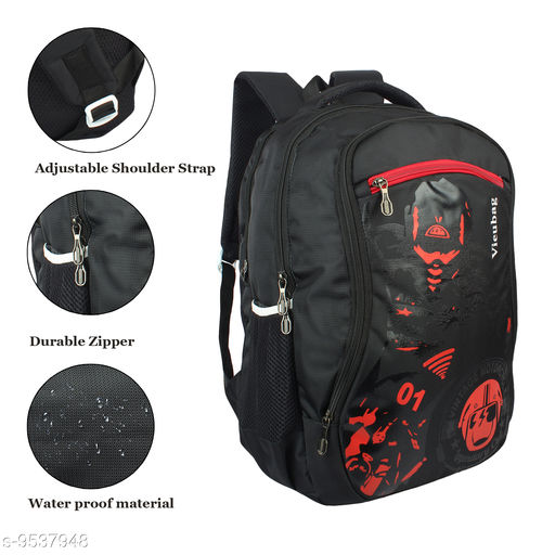 Bags & Backpacks Bags  *Material* Polyester  *Laptop Capacity* No laptop compartment  *Sizes*  Free Size  *Sizes Available* Free Size *    Catalog Name: Comforstic Modern Men Bags & Backpacks CatalogID_1681519 C65-SC1234 Code: 187-9537948-