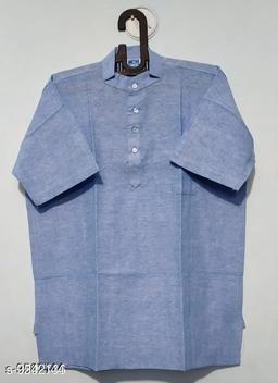 Elegant Khadi Cotton Men's Kurta