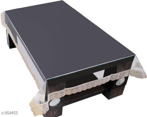 Classy PVC Transparent Center Table Cover