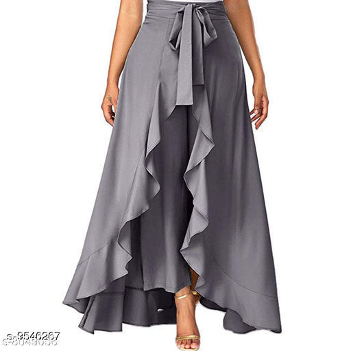 Women's Solid Pack of 1 Palazzo