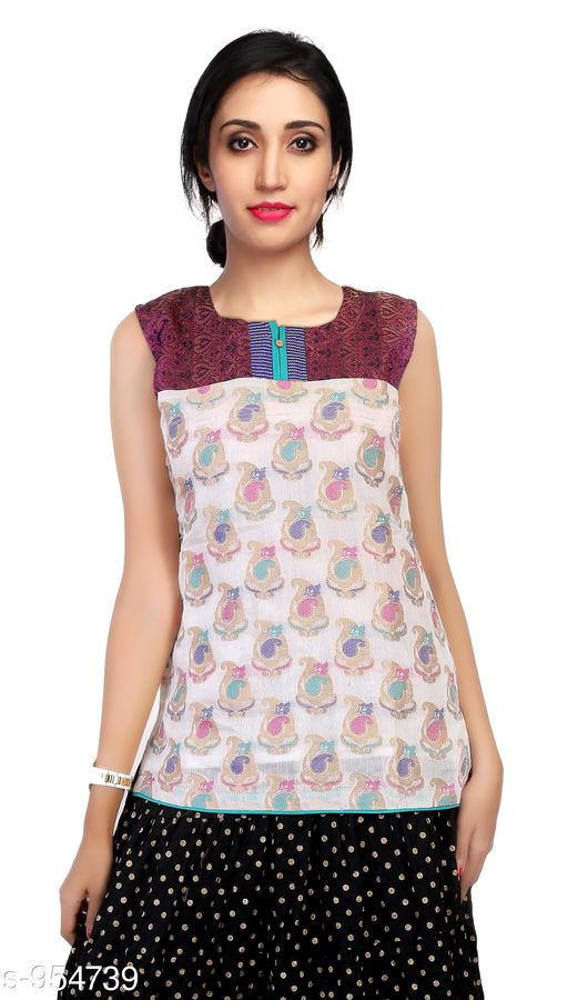 Kurtis & Kurtas Everyday Short Length Women's Kurti  *Fabric* Cotton Sik  *Sleeves* Sleeves Are Not Included  *Size* L - 40 in, XL - 42 in  *Length* Up To 26 in  *Type* Stitched  *Description* It Has 1 Piece Of Women's Short Length Kurtis  *Work* Printed  *Sizes Available* L, XL   Supplier Rating: ★3.8 (721) SKU: AGSPL-3270W-KT-PURPLE-WHITE Shipping charges: Rs1 (Non-refundable) Pkt. Weight Range: 300  Catalog Name: Chintana Everyday Short Length Women's Kurtis Vol 1 - appex garments Code: 515-954739--786