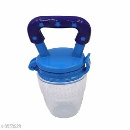 Tiny Tycoonz Safe BPA Free and 100% Food Grade Baby Fruits Pacifier Blue