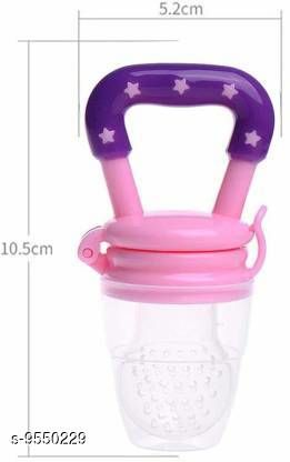 Tiny Tycoonz Safe BPA Free and 100% Food Grade Baby Fruits Pacifier Pink