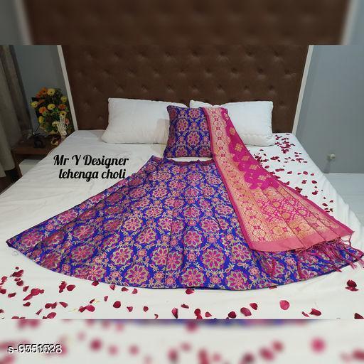 Lehengas Beautiful Lehenga  *Dupatta Fabric* Silk  *Sizes*  Semi Stitched  *Sizes Available* Semi Stitched *    Catalog Name: Aishani Graceful Women Lehenga CatalogID_1684568 C74-SC1005 Code: 4321-9551023-