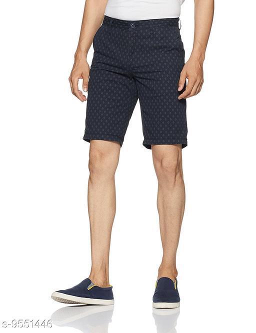 Buffalo Brand Mens Navy Print Short Pant