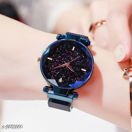 Watches Attractive Women's Watch  *Size* Free Size  *Sizes Available* Free Size *    Catalog Name: Attractive Women Watches CatalogID_1685007 C72-SC1087 Code: 882-9553060-