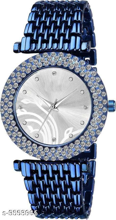Watches Trendy Analogue Watches  *Size* Free Size  *Sizes Available* Free Size *    Catalog Name: Attractive Women Watches CatalogID_1685007 C72-SC1087 Code: 142-9553065-