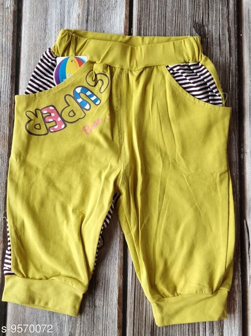 Trackpants & Joggers kids cool pants  *Fabric* Cotton Blend  *Sizes*  1-2 Years  *Sizes Available* 1-2 Years *    Catalog Name: Cutiepie Comfy Kids Boys Trackpants CatalogID_1689253 C59-SC1186 Code: 103-9570072-