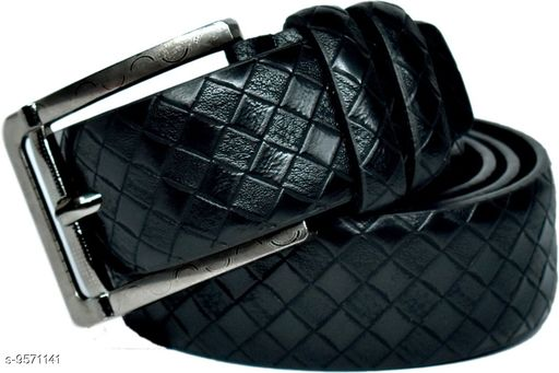 Belts Mens Stylish Belts  *Material* Leather  *Pattern* Solid  *Multipack* 1  *Sizes*   *36 Belt Length * 46  *40 Belt Length * 46  *34 Belt Length * 46  *42 Belt Length * 46  *Sizes Available* 40 *    Catalog Name: Casual Unique Men Belts CatalogID_1689530 C65-SC1222 Code: 764-9571141-