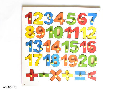 Educational Toys Educational Toys For Kids  *Product Name* Educational Puzzle  *Multipack * 1  *Sizes Available* Free Size *    Catalog Name: Educational Toys CatalogID_1691856 C86-SC1293 Code: 024-9580613-