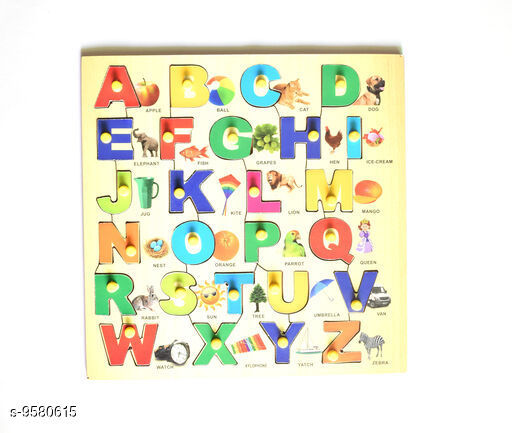 Educational Toys Educational Toys For Kids  *Product Name* Educational Puzzle  *Multipack * 1  *Sizes Available* Free Size *    Catalog Name: Educational Toys CatalogID_1691856 C86-SC1293 Code: 024-9580615-