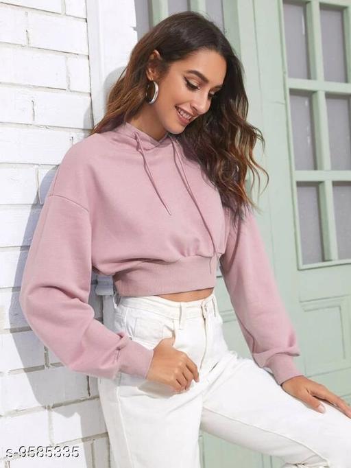 Trendy Stylish Cropped Sweatshirts