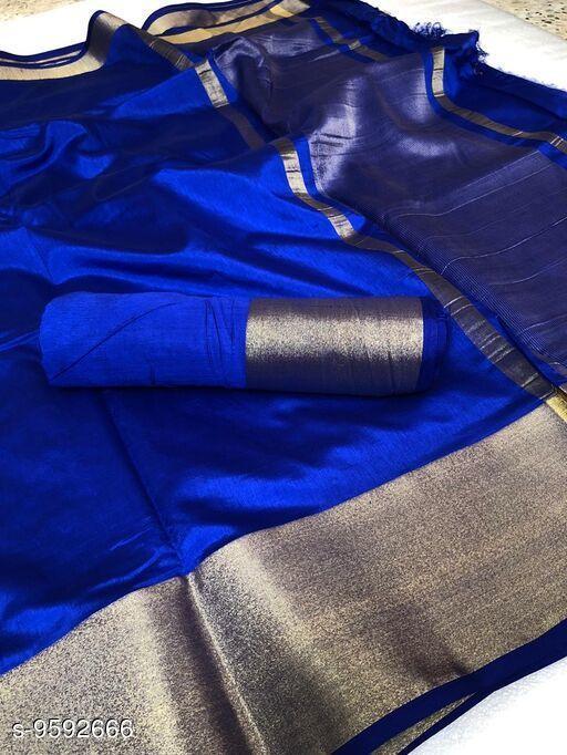 Fancy Tusser Silk Saree