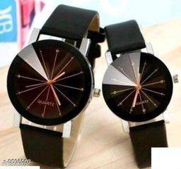 stylish couple casual watches