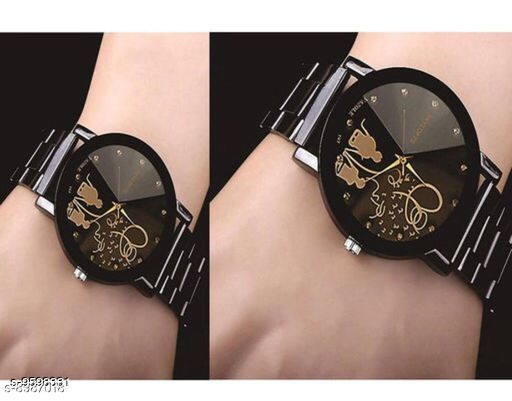 Watches trendy stylish watches  *Size* Free Size  *Sizes Available* Free Size *    Catalog Name: Classy Men Watches CatalogID_1696178 C65-SC1232 Code: 803-9598331-