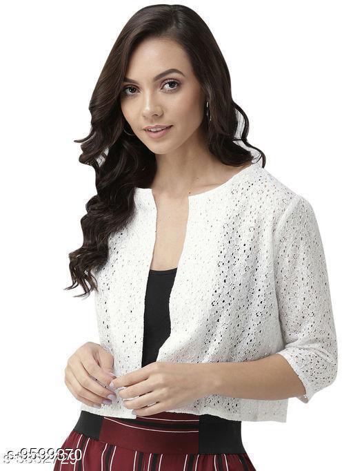 Aagyeyi Stylish Cotton Women's Shrugs