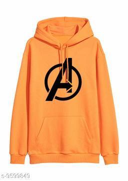 Divra Clothing Unisex Regular Fit Avengers Printed Cotton Hoodie