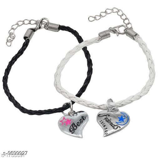 Jewellery Trendy Men's Bracelets  *Sizes*   *Sizes Available* Free Size *    Catalog Name: Navratri White Fancy Trendy Men Jewellery CatalogID_1696547 C65-SC1227 Code: 631-9599927-