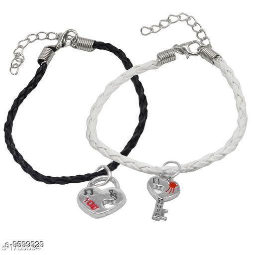 Jewellery Trendy Men's Bracelets  *Sizes*   *Sizes Available* Free Size *    Catalog Name: Navratri White Fancy Trendy Men Jewellery CatalogID_1696547 C65-SC1227 Code: 631-9599929-