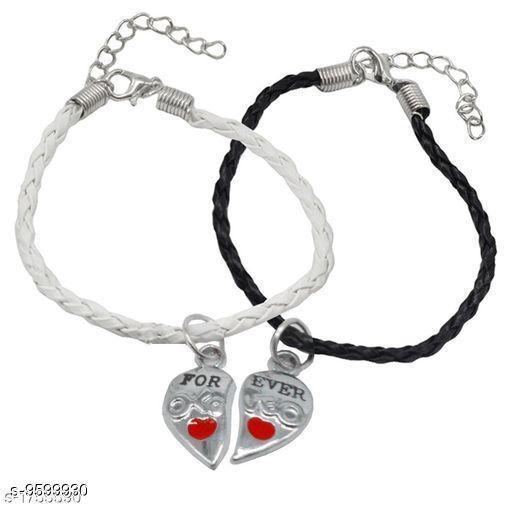 Jewellery Trendy Men's Bracelets  *Sizes*   *Sizes Available* Free Size *    Catalog Name: Navratri White Fancy Trendy Men Jewellery CatalogID_1696547 C65-SC1227 Code: 631-9599930-
