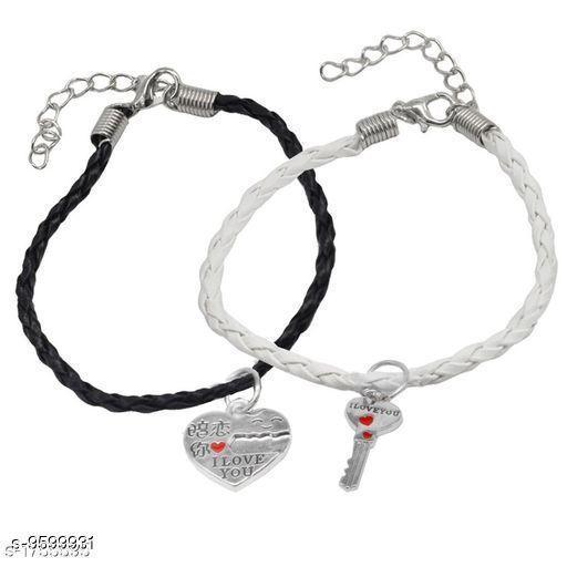 Jewellery Trendy Men's Bracelets  *Sizes*   *Sizes Available* Free Size *    Catalog Name: Navratri White Fancy Trendy Men Jewellery CatalogID_1696547 C65-SC1227 Code: 631-9599931-