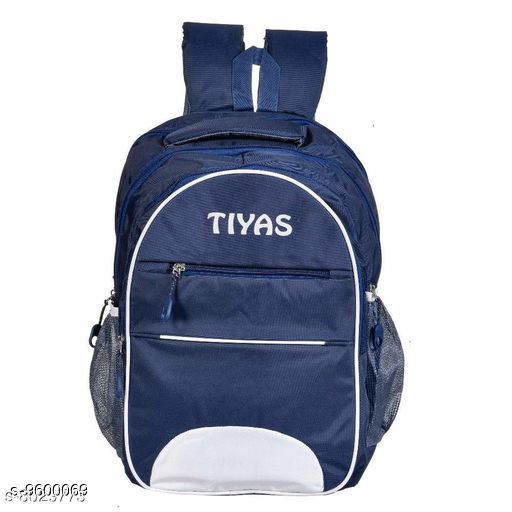 Bags & Backpacks 30 Litre Capacity Laptop Backpack (Dark Blue)  *Sizes*  Free Size  *Sizes Available* Free Size *    Catalog Name: Elegant Latest Men Bags & Backpacks CatalogID_1696572 C65-SC1234 Code: 806-9600069-