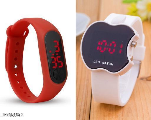 Watches Fabkids Digital Watches  *Sizes*  Free Size  *Sizes Available* Free Size *    Catalog Name: Wonderful Kids Unisex Watches CatalogID_1696982 C63-SC1197 Code: 712-9601826-