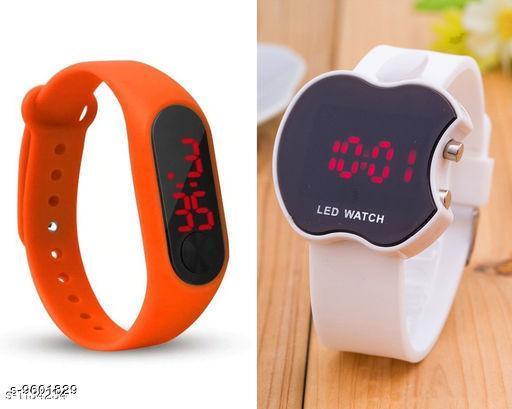 Watches Fabkids Digital Watches  *Sizes*  Free Size  *Sizes Available* Free Size *    Catalog Name: Wonderful Kids Unisex Watches CatalogID_1696982 C63-SC1197 Code: 291-9601829-