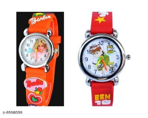 Watches Attractive Kid's Watch  *Display* Analogue  *Sizes*  Free Size  *Sizes Available* Free Size *    Catalog Name: Fancy Kids Unisex Watches CatalogID_1697044 C63-SC1197 Code: 002-9602099-