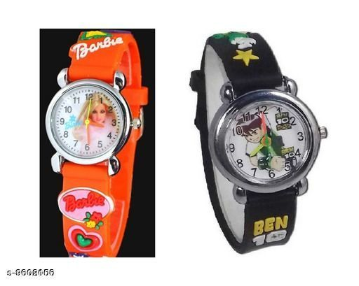 Watches Attractive Kid's Watch  *Display* Analogue  *Sizes*  Free Size  *Sizes Available* Free Size *    Catalog Name: Fancy Kids Unisex Watches CatalogID_1697044 C63-SC1197 Code: 002-9602100-